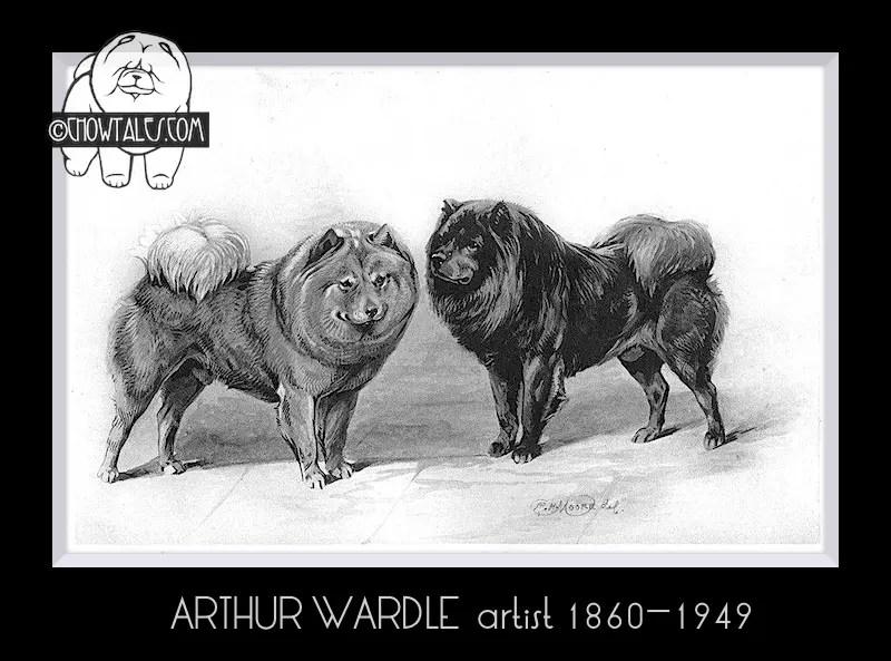 1894 arthur waddle bookplate print