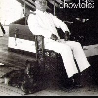 Admiral Dewey and his chow mascot Bob-late 1800's