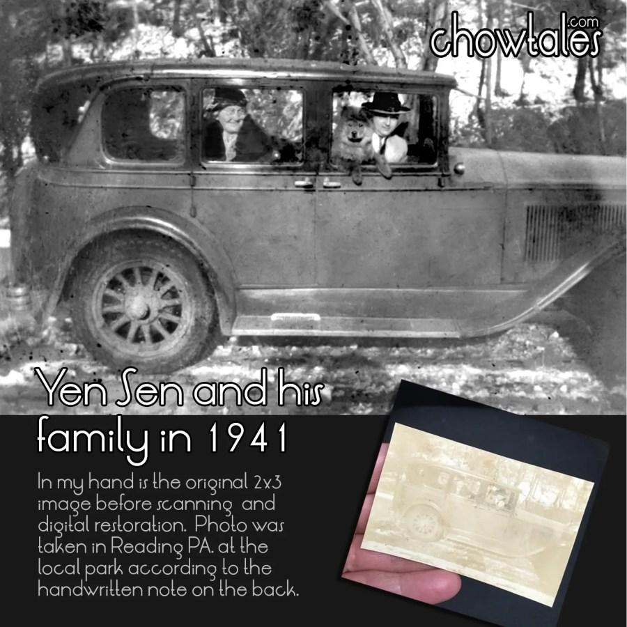 FAMILY CHOW ALBUM car restored