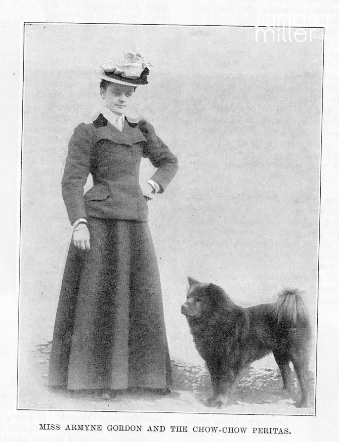 1897 THE SKETCH MISS ARMYNE GORDON WITH PERITAS 2016-02-20