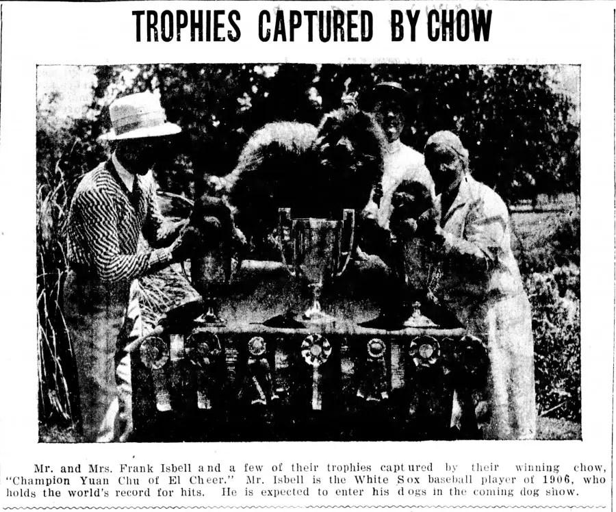 1928 BIS Ch. Yuan Chu of El Cher Sire Ch. Ledgeland's Sancho