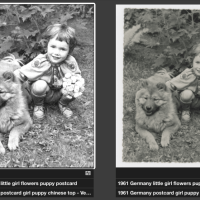 Step by Step process-Restoring antique photographs for ChowTales archive