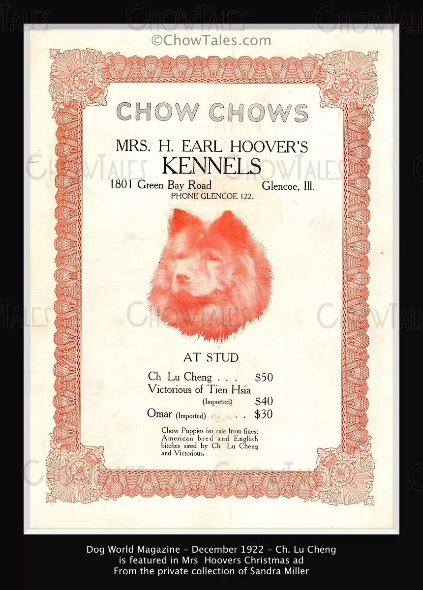 Lu Cheng 1922 Dog World ad.jpg  5528