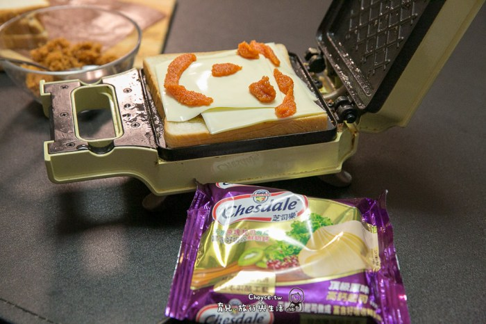 『芝司樂頂級原味高鈣起司』華麗變身 小廚師上菜篇:甜椒焗烤飯,熱壓吐司,起司蛋包飯