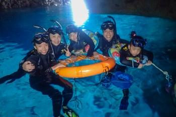 親子浮潛也可以 沖繩潛水找GiGi 青洞船潛一路到底最省力 Marine Club Gigi Okinawa