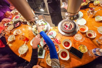 北海道必吃美食 札幌薄野 成吉思汗烤羊肉 達摩4.4二階亭 女性顧客導向太貼心