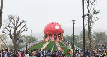 貓裏喵親子公園 苗栗八爪章魚溜滑梯 讓孩子玩到不亦樂乎的新景點