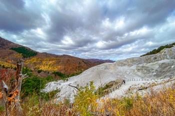 天堂與地獄只有一線之隔 日本三大靈地之一 川原毛地獄山 秋田湯澤秘境 野湯溫泉
