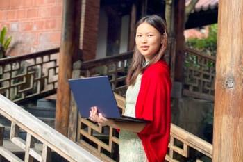 一萬元買到ASUS E410最美型國民筆電一見輕新就愛上 追劇上網學習 旅行輕巧好攜帶 行動工作最推薦