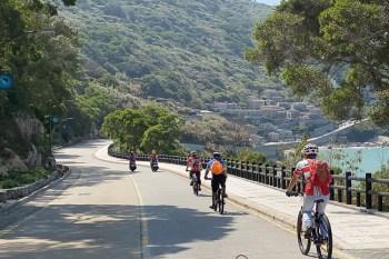 低碳輕旅行 馬祖自行車旅遊 捷安特越野車免費租借 單車環島遊馬祖
