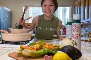 粉紅少女心噴發 韓國原廠打造 neoflam蜜桃雪酪系列 陶瓷塗層鑄造不沾鍋開箱 留學生料理