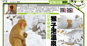 猴子泡溫泉 長野地獄谷野猿公苑snow monkey 猴子泡溫泉 (Jigokudani Hot Springs)