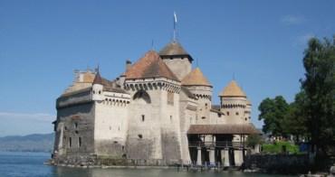(瑞士) 518 chateau de chillon 西庸城堡(契隆城)與蒙投市區