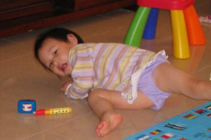 小喬滿一歲9個月了