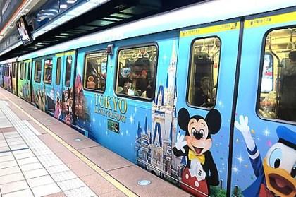 (親子遊日本) 東京迪士尼彩繪列車 在台北板南線捷運站出沒!!