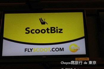 (日本東京都) ScootBiz 酷航商務艙 開艙文 享受優待服務大推薦