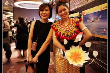 (ITF連線報導) 台北國際旅展 馬來西亞館為第三大展區有20個攤位喔!