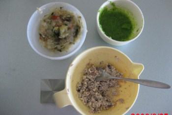 副食品製作-配菜與點心