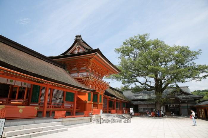 勝利之神 宇佐八幡神宮 九州信仰中心 別府在地人也推薦