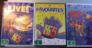 (好物推薦) 澳洲最受歡迎幼教團體 Hi-5 DVD