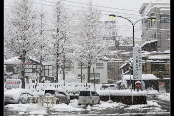(日本) 大雪天,路面不結冰打滑的秘密(新瀉縣越後湯澤)