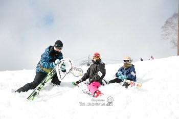 親子滑雪推薦 距離輕井澤約90分鐘車程 相對便宜與好景色 萬座溫泉滑雪場 智樺小編初登場