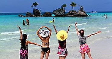 (菲律賓長灘島) 長灘島交通:水路與陸路、飛龍航空與水上活動(比基尼美女大放送)