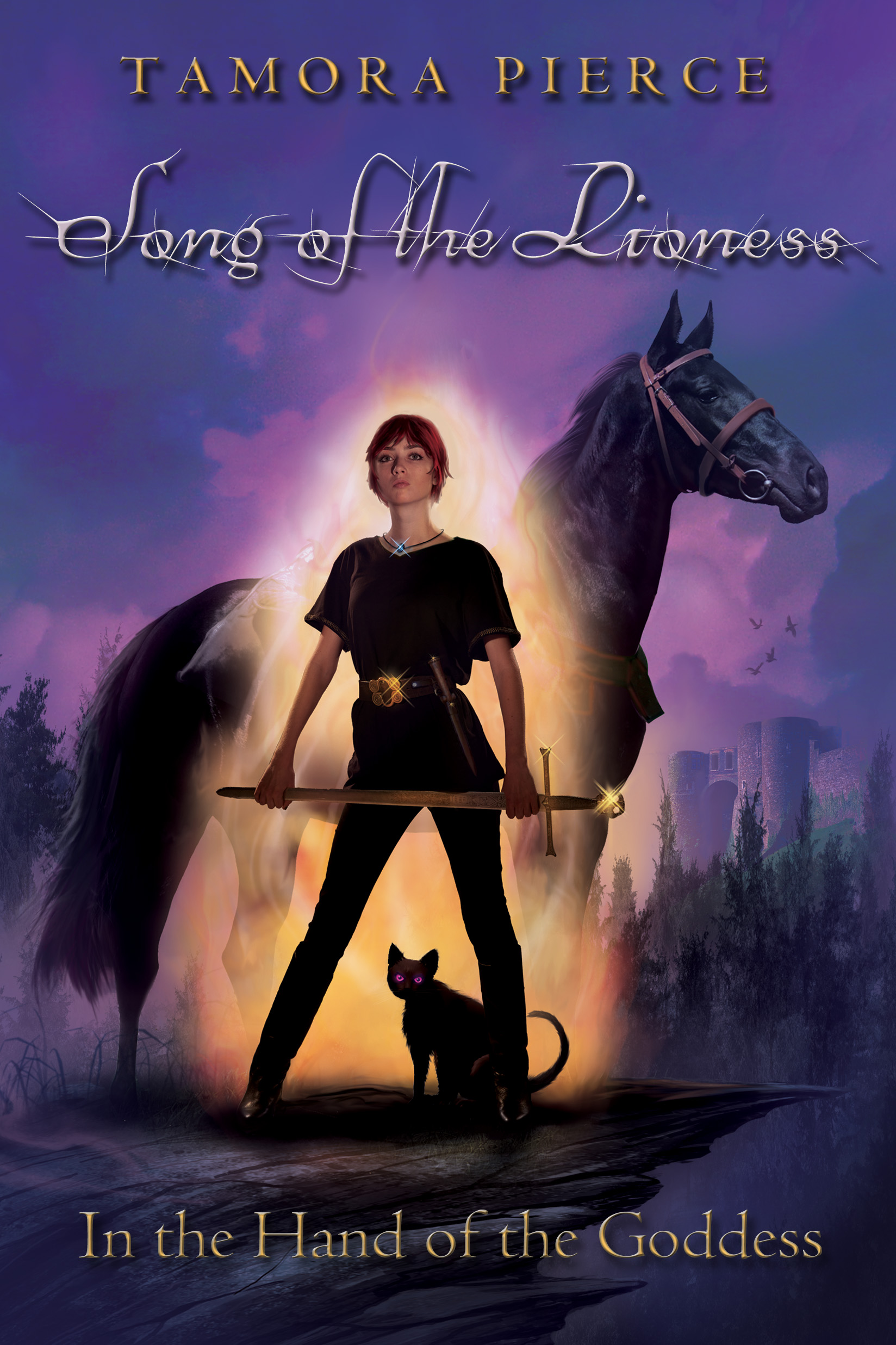 In The Hands of the Goddess by Tamora Pierce cover redesign