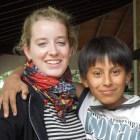 Ronja mit Patenkind Alberto