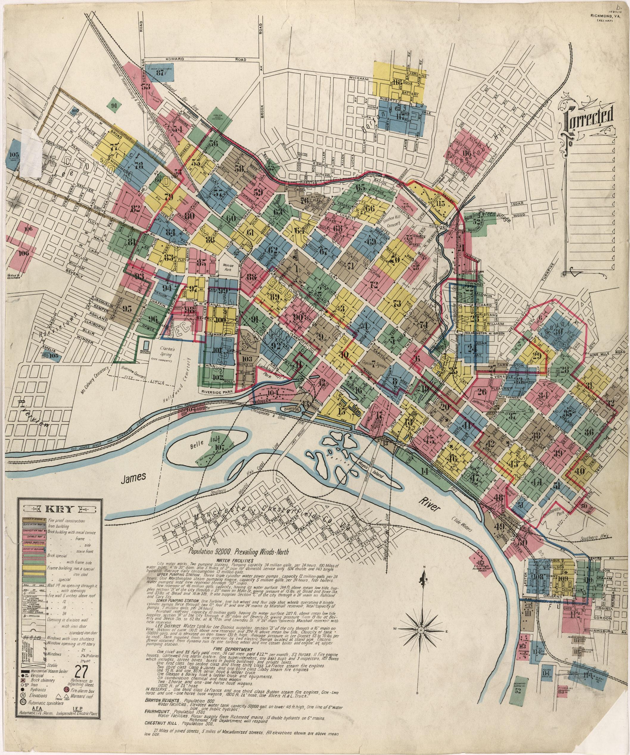 Sanborn Maps For Richmond