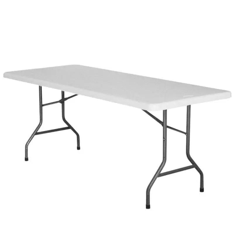 table rectangulaire pliante nimes 8 10 pers