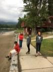 Loitering at Whitefish Lake