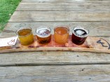Rachel's flight at HA Brewery