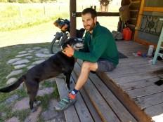 Buzz, at Lost Llama Lodge
