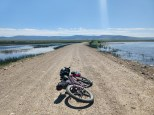 Crossing Red Rock Lakes Refuge
