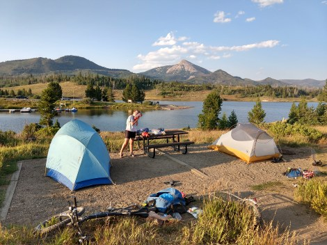 Steamboat Lake Campsite