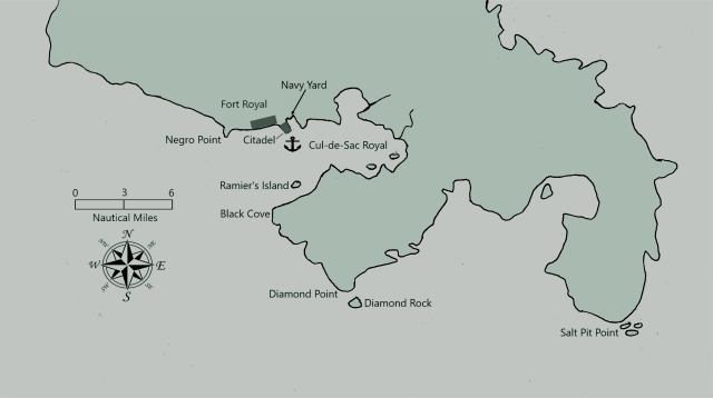Fort Royal. Martinique 1756-1757 Neo
