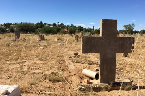 """Windhoek's """"Old Location,"""" where blacks were forced to live during South Africa's administration of the country."""
