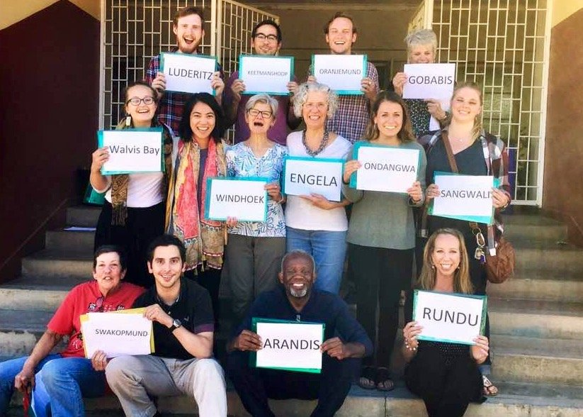 Why is the Peace Corps in Namibia?