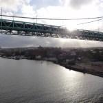 Brücke Hisingsleden
