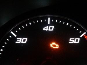 Kontrolleuchte Abgasanlage
