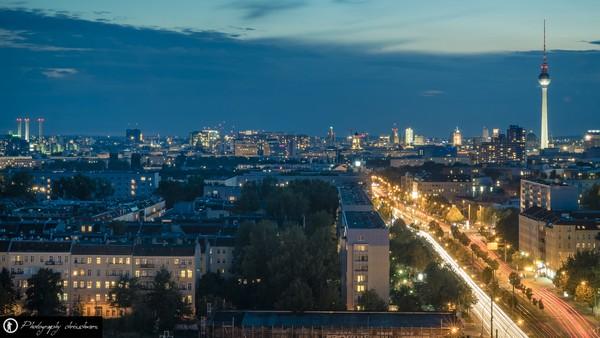 Skyline von Berlin mit Alex