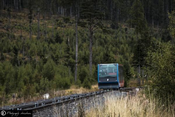Mit der Zahnradbahn zum Hrebienok