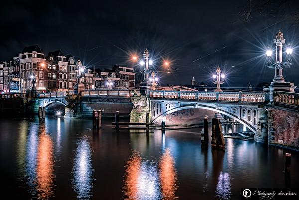 Bleuwbrug (Blaue Brücke)