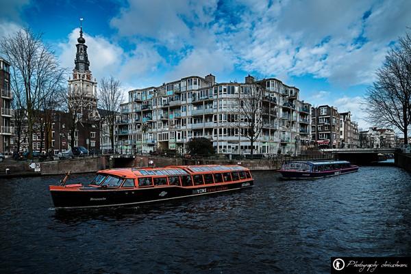 Grachtenrundfahrt auf Amsterdams Kanäle