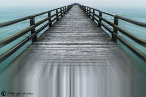 Seebrücke des Ostseebads Prerow