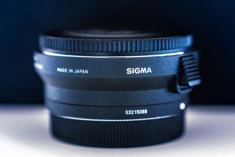 Teaserbild, Verlinkung zum Artikel: Sigma MC-11 (Mount Converter Canon EF – SONY E)