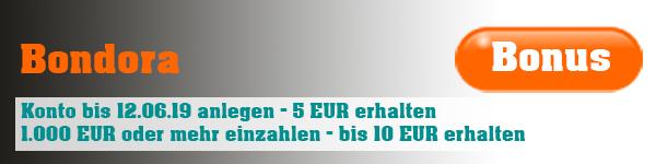 Bondora-Konto anlege und Bonus erhalten