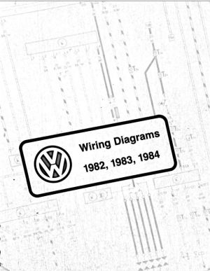 VW Wiring Diagram PDFs; 1982, 1983, 1984 | chrischemidlin