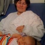 Madelyn & My Mom